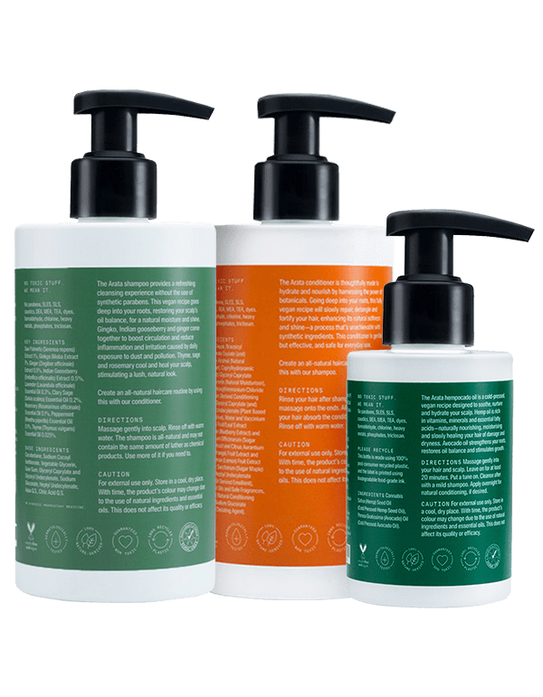 Arata Daily Scalp Therapy Combo - Arata