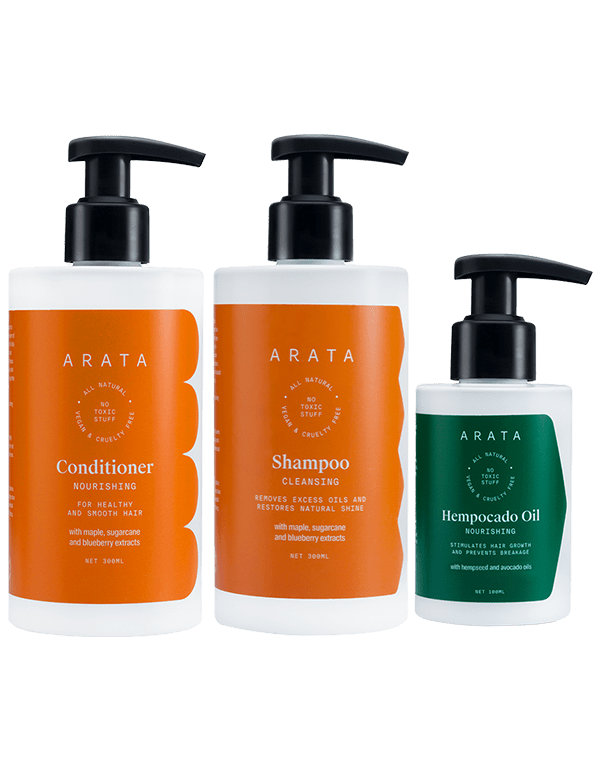 Arata Hair Care Set - Arata