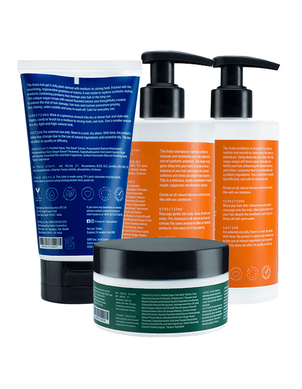 Arata Hair Care Essentials Details