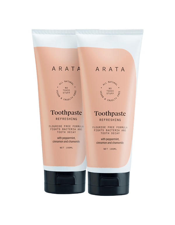 Arata Natural Toothpaste(Pack of 2)