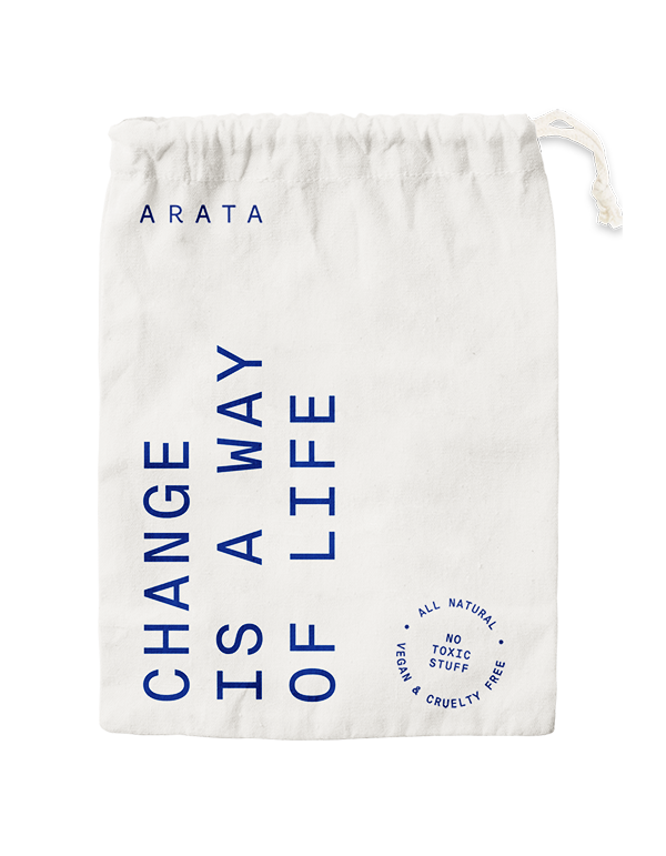 Arata Travel Pouch: Change is a way of life