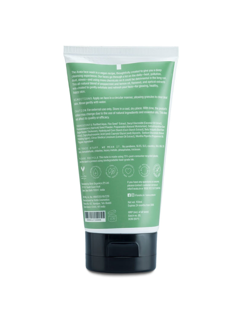 Arata Refreshing Face Wash - Arata