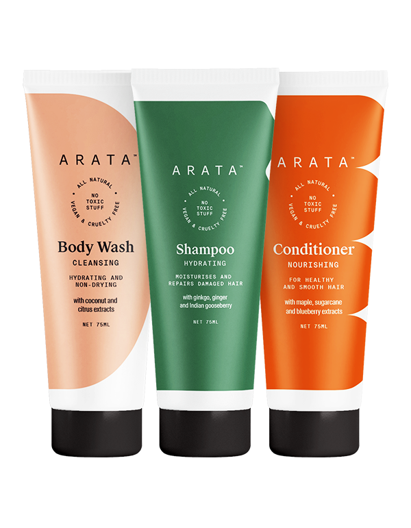 Arata Deep Hydration Combo Gift Box - Small
