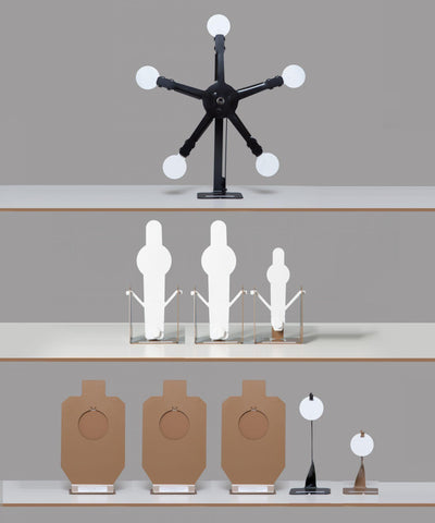 3x3x2 Defensive Poppers Hangers Texas Star Bundle