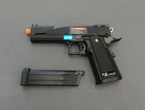 WE HI-CAPA Gas Blowback Airsoft w/free domestic shipping