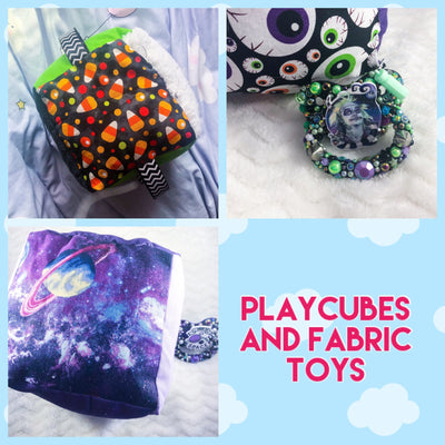 Playcubes and Fabric Toys