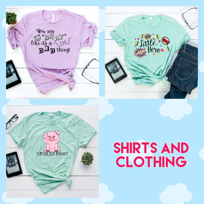 Shirts and Clothing
