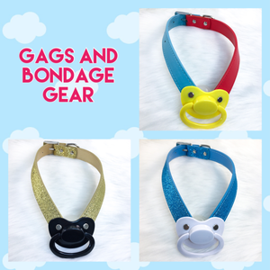 Gags and Bondage Gear