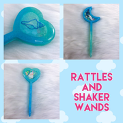 Rattles and Shaker Wands