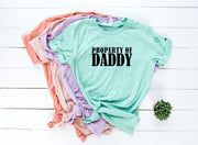 Property of Daddy / Mommy / Sir / Miss / Master / Mistress Shirt