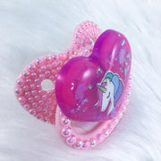 Hot Pink Unicorn BP Paci