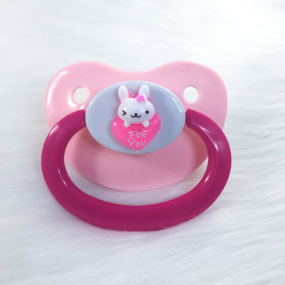 For You Baby Bunny Simple BE Paci