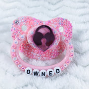 Owned Mirrored Lock OM Paci