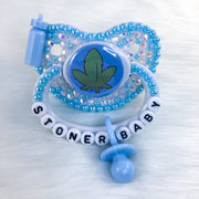 Blue Stonie Baby Premade PM Paci