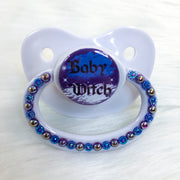 Angelic Baby Witch PM Paci (Custom Options Blank to Full Deco)