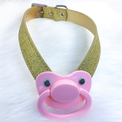 Pink Royalty Paci Novelty Gag