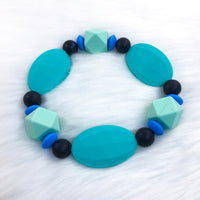 Dragon Scales Chunky Teether Bracelet 7.25in
