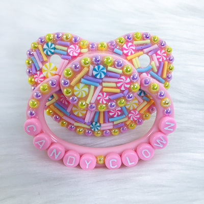 Candy Clown Sprinkle PM Paci