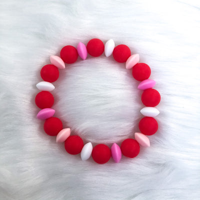 In Love Teether Bracelet 7.25in