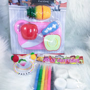 Fresh Fruity Set (PM Paci, Make Your Own Squishy Set, Toy Set)