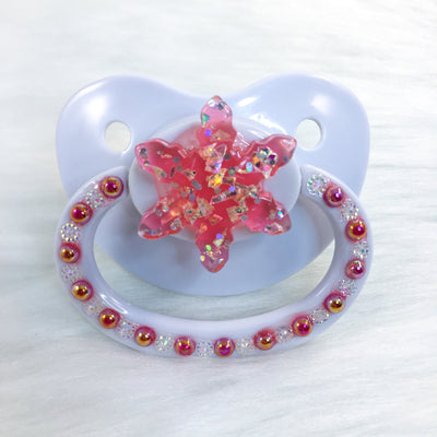 Red Snowflake PM Paci