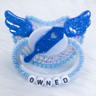 Owned Blue Paddle PM Paci