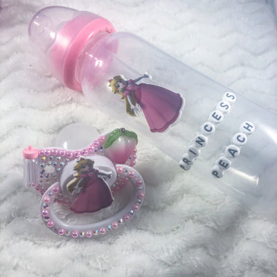 Lil Peach Set (Paci and Bottle)