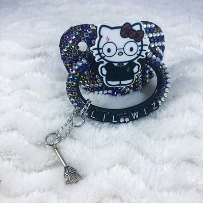 Lil Wiz Kitty HC Paci with Charm