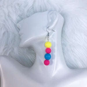 Pan Pride Dangle Earrings