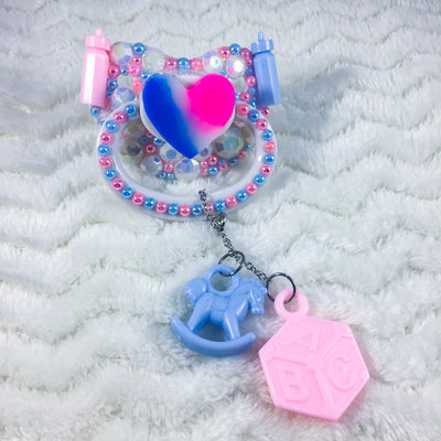 Trans Pride PM Paci with Removable Charm