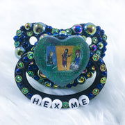Hex Me Partial Encrusted PM Paci