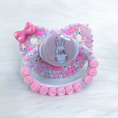 Baby Bunny PM Paci (Custom Options Blank to Full Deco)