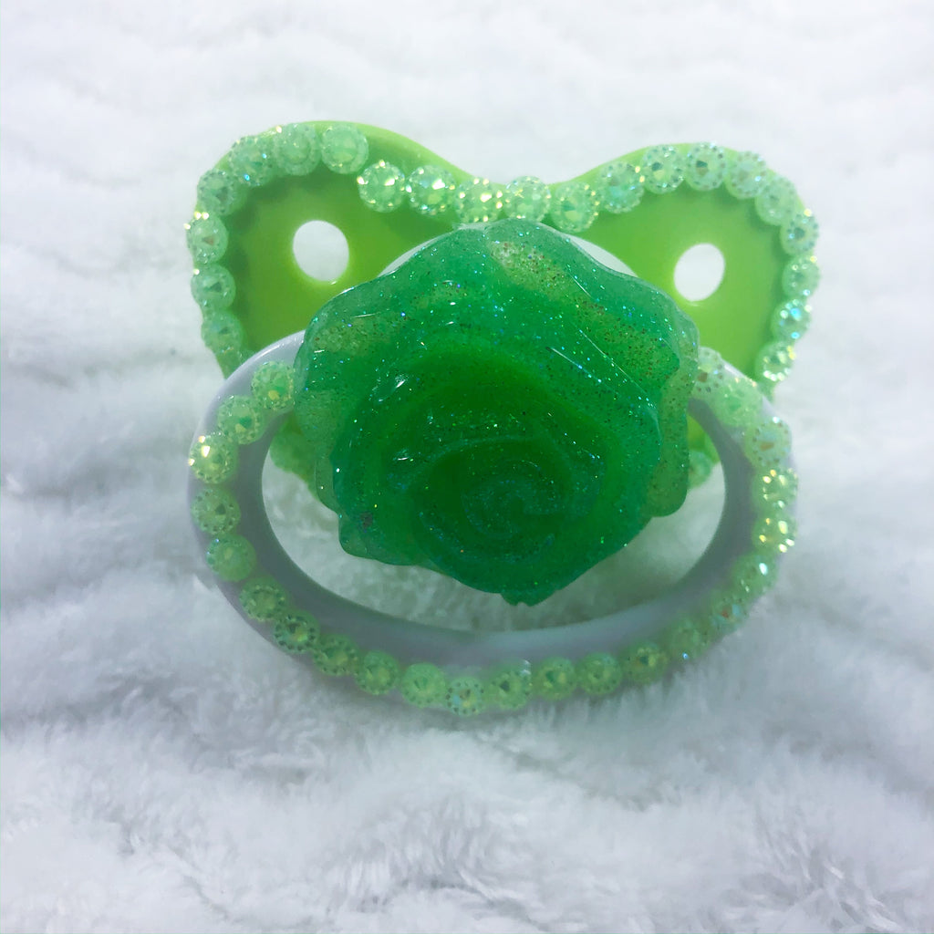Seconds Green Rose Paci