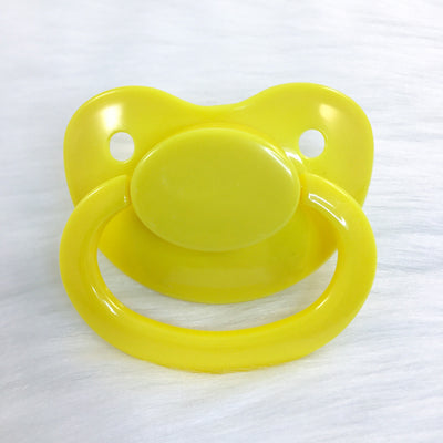 Plain Yellow Adult Paci