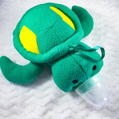 Turtle Bottle Cover and Bottle Set
