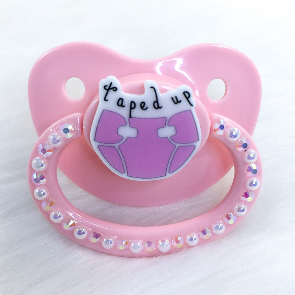 Taped Up Simple PM Paci