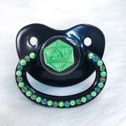 Green D20 PM Paci (Custom Options Blank to Full Deco)