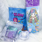 Shimmer Mermaid Set (BE Paci, Slime, Puzzle, Bath Bomb)