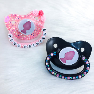 Pink Plug PM Paci (Custom Options Blank to Full Deco)