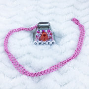 Owned Deco Cow Bell Chain Collar/Necklace