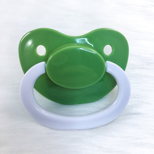 Key Lime Color Mix Plain Adult Paci