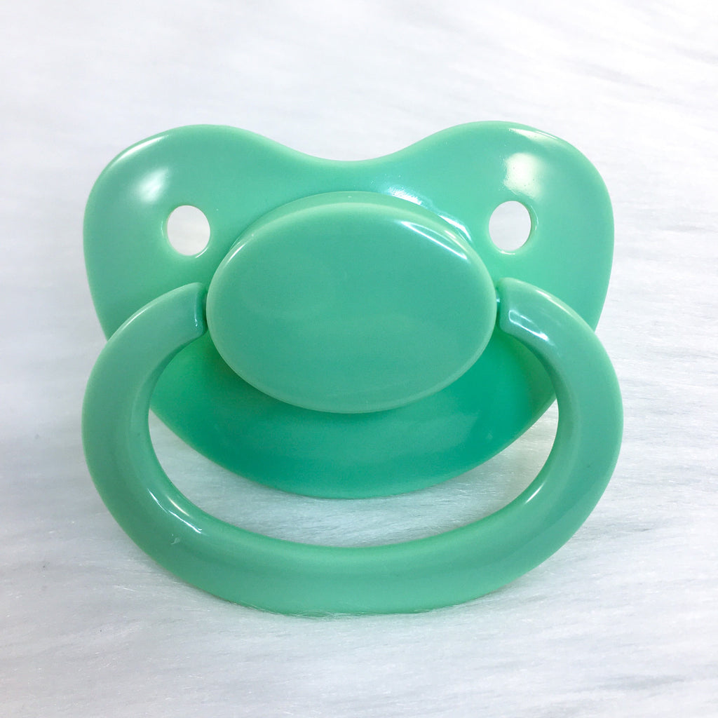 Mint Green Plain Adult Paci