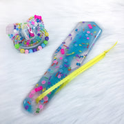 I Want Candy Set (PM Shaker Paci and 8 Inch Paddle)