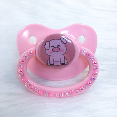 Full Body Piggy PM Paci (Custom Options Blank to Full Deco)