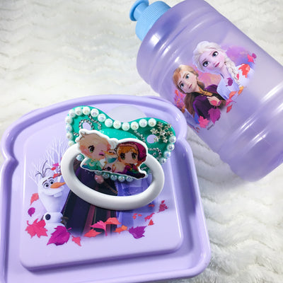 Frozen Snack Set (HC Paci, Bottle, Sandwich Container)