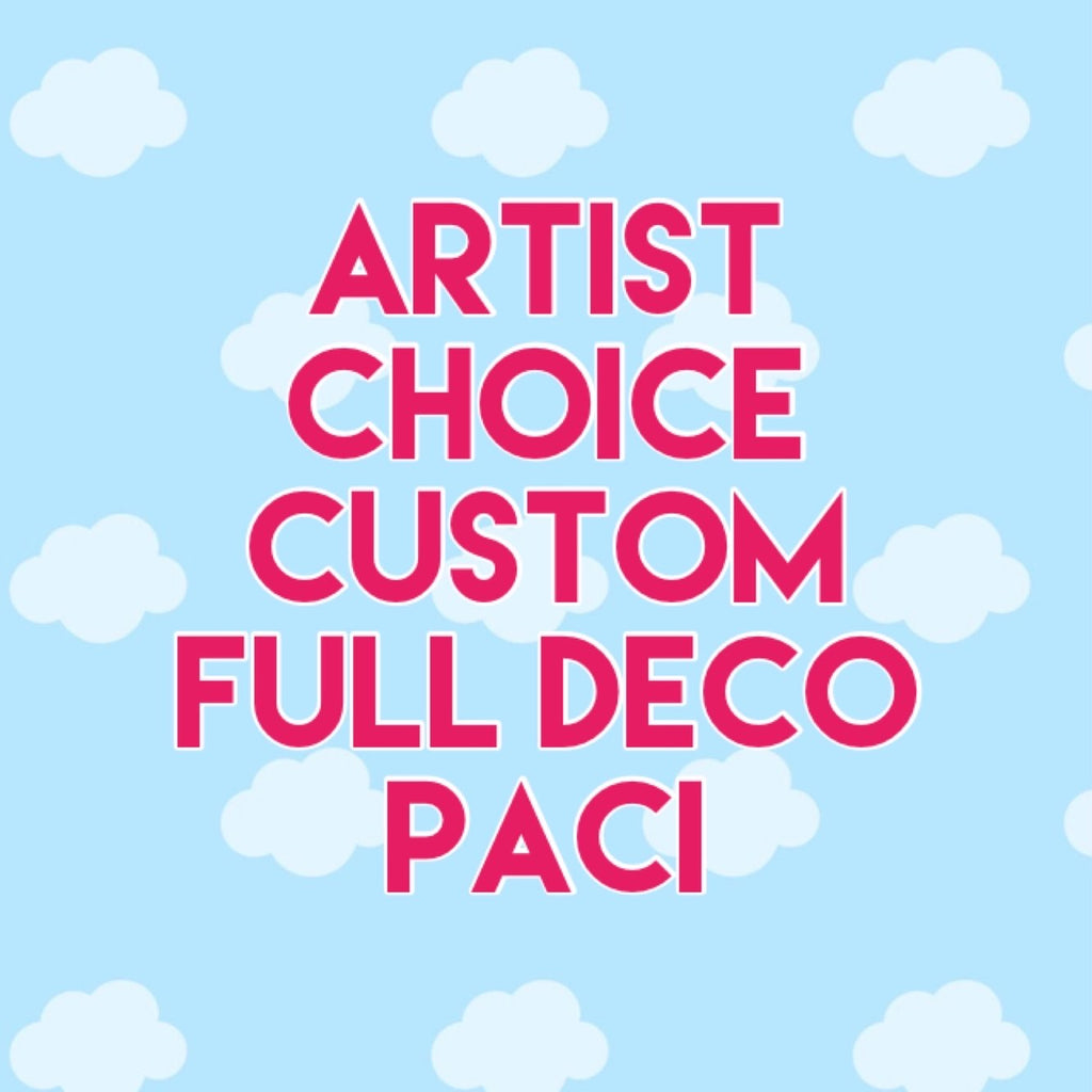 Artist Choice Custom Full Deco WET SHAKER Paci