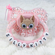 Silly Kitty Shaker Eye Paci
