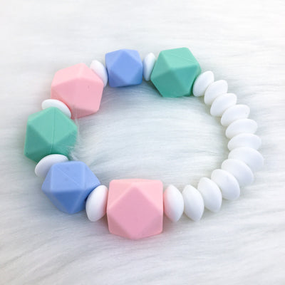Pastel Dreams Sensory Teether Bracelet 7.25in
