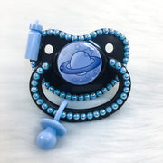 Blue Littlespace Planet PM Paci (Custom Options Blank to Full Deco)
