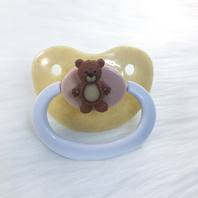 Lil Honey Bear Simple BE Paci